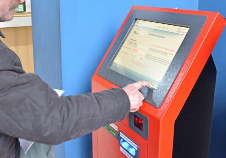 Jaf la Electrica, în Ştei: Hoţii au furat un automat de încasat facturi!