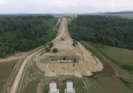 Marş ciclistic pentru reluarea lucrărilor la autostrada Transilvania