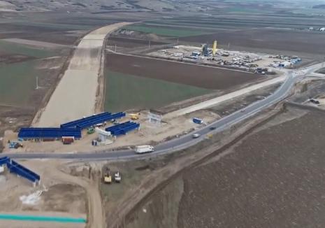 Autostrada Transilvania pe bucăţi: Imagini spectaculoase din aer. Vezi stadiul lucrărilor! (VIDEO)