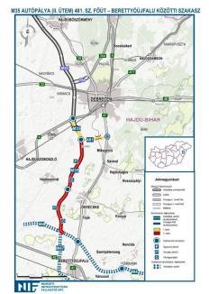 Ungurii s-au apropiat cu autostrada la 20 km: Un nou tronson inaugurat joi micşorează distanţa Oradea-Debreţin (FOTO / VIDEO)
