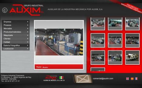 Firma spaniolă Auxim aduce 1,2 milioane euro în Parcul Industrial