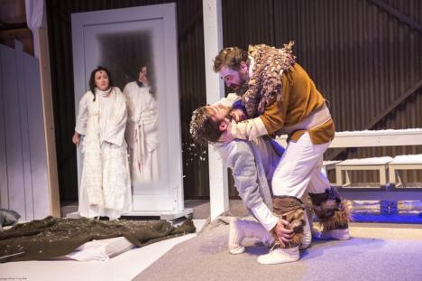 O nouă premieră la Teatrul Regina Maria: Avalanşa (FOTO)
