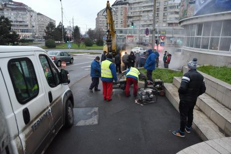Termoficare Oradea: avaria a fost remediată, se reia treptat furnizarea apei calde şi a încălzirii