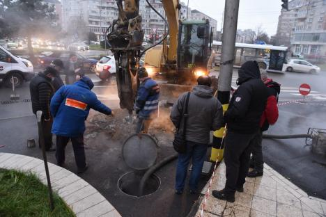 Termoficare Oradea: Se reia, treptat, furnizarea agentului termic pentru apă caldă și căldură pentru punctele termice afectate