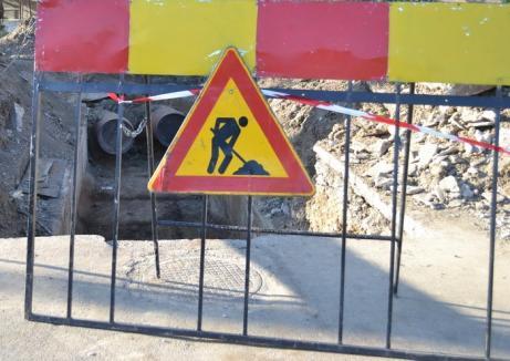 Avarie pe magistrală: Jumătate din Rogerius rămâne până miercuri fără apă caldă