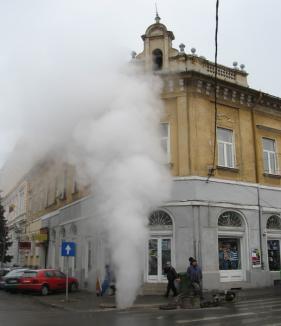 Centrul Oradiei nu are apă caldă şi căldură!