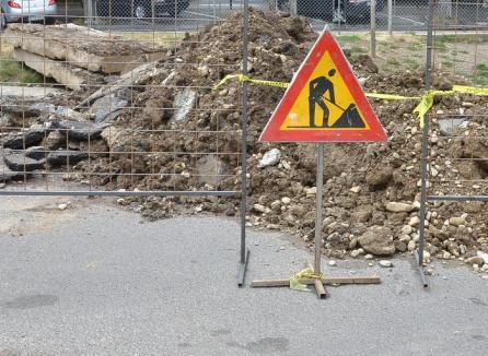 Avarie pe Republicii: Mai multe străzi rămân până vineri fără apă caldă