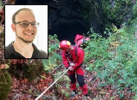 Tânărul dispărut în Padiş a fost găsit mort de salvamontişti, într-un aven adânc de 80 de metri (FOTO)