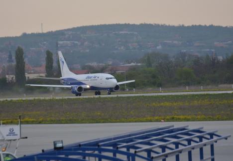 La Sfântu'-aşteaptă: Cursele internaţionale de pe Aeroportul din Oradea rămân în aşteptare