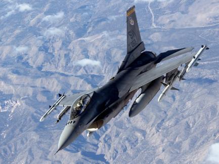 Nu mai avem bani pentru avioanele F-16