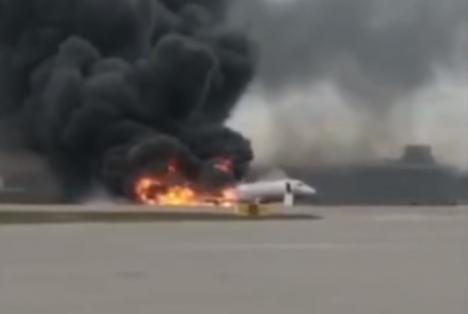Tragedie pe cel mai mare aeroport din Moscova. Cel puţin 41 de oameni au murit (VIDEO)