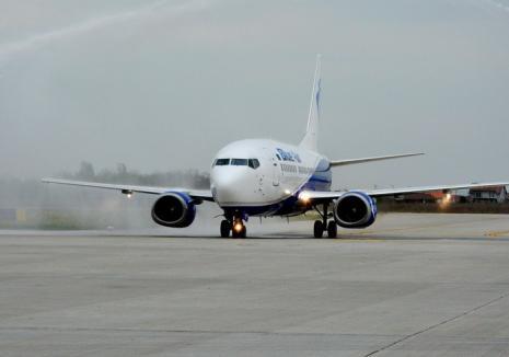 Un nou record pe Aeroportul din Oradea: 1.257 de pasageri!