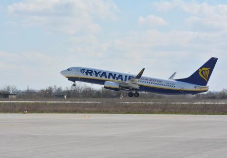 Decolare cu ghinion: Un avion al Ryanair, întors pe Aeroportul Otopeni din cauza unor probleme tehice