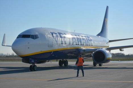 Încă o destinaţie europeană, de pe Aeroportul din Oradea: S-au inaugurat cursele spre Dusseldorf Weeze (VIDEO)