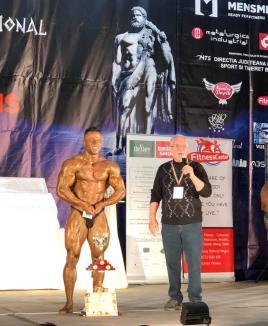 Orădeanul Bogdan Mateșan a câștigat concursul open al Trofeului Hercule la culturism (FOTO)