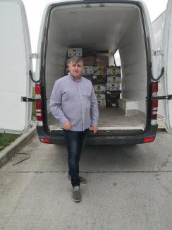 """""""Bancherul"""" sărmanilor: O clujeancă s-a mutat la Oradea pentru a duce surplusul de alimente din magazine pe mesele nevoiașilor (FOTO)"""