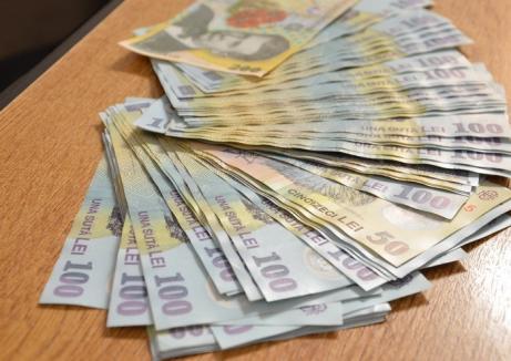 Salariul minim va creşte la 1.250 de lei de la 1 mai