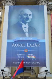 De ziua Oradiei: Portretul unui primar român şi cel al unui primar maghiar, pe faţada Primăriei (FOTO)