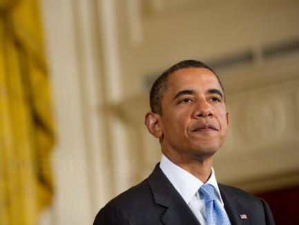 Împuşcături la sediul de campanie al lui Obama