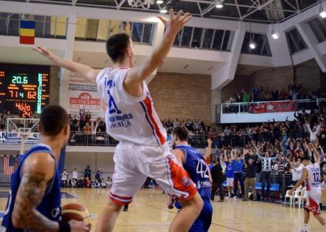 Victorie la Piteşti: CSM a câştigat jocul din prima etapă a returului cu 81-74