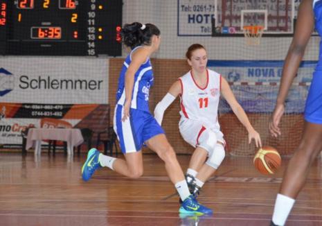 Înfrângeri categorice pentru tinerele baschetbaliste de la CSU Rookies Oradea la primul turneu din noul sezon al Ligii Naţionale
