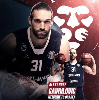 Alexandre Gavrilovic vine la CSM CSU Oradea, după ce a evoluat în Liga VTB şi la turneul final al Basketball Champions League