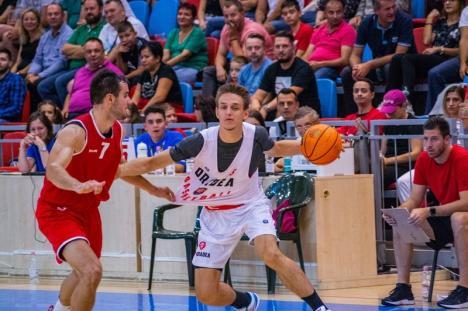 CSM CSU Oradea s-a impus la o diferență de 13 puncte în primul joc de la Memorialul Antonio Alexe