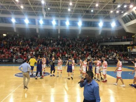 Victorie mare, după cel mai bun joc: CSM CSU Oradea – BC CSU Sibiu 104-78! (FOTO)