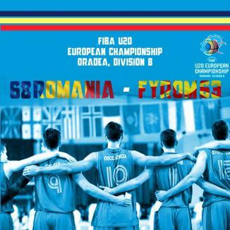 Ne-am calificat! România a învins Macedonia şi merge în sferturile de finală ale Campionatului European de baschet masculin de la Oradea