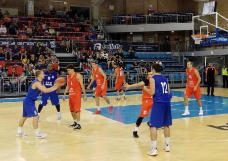 CSM CSU Oradea a pierdut în prelungiri primul joc de la Cupa Timişoara, cu KK Vrsac
