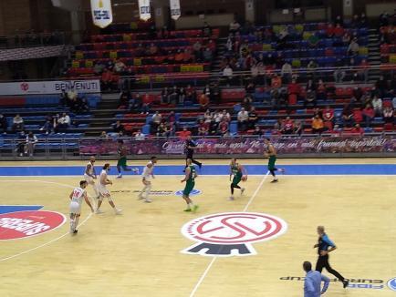 Baschet: După un nou joc modest, CSM CSU Oradea a pierdut şi primul meci din noul sezon al cupelor europene (FOTO)