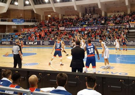 CSM CSU Oradea a pierdut jocul de acasă cu ZZ Leiden şi nu mai are nicio şansă de calificare în faza următoare a FIBA Europe Cup
