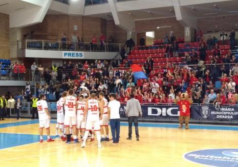 Baschetbaliștii de la CSM CSU Oradea vor disputa un joc amical cu Szedeak Szeged