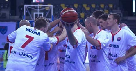 CSM CSU Oradea, în finală! Baschetbaliştii au învins Steaua cu 71-65 şi sunt pentru a treia oară în finala Cupei României