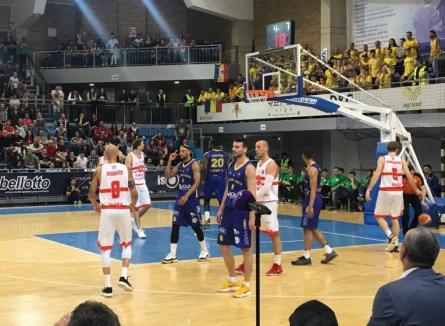 CSM CSU Oradea se pregăteşte de duelurile cu BC CSU Sibiu din semifinala Ligii Naţionale