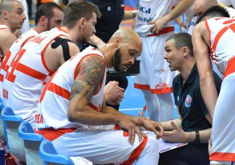 Baschet masculin: CSM CSU Oradea joacă sâmbătă cu BCMU FC Argeş Piteşti
