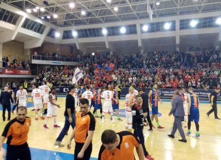 CSM CSU Oradea a încheiat anul cu un succes important: 89-81 în disputa cu Steaua!