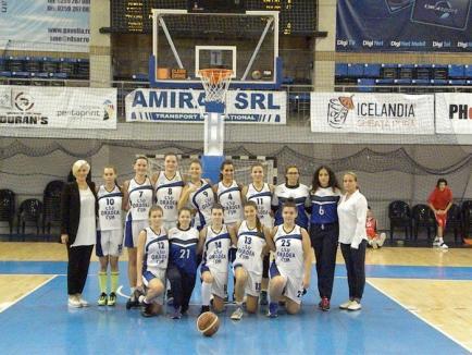 O înfrângere și o victorie pentru Universitatea CSM Oradea, în ultimele două deplasări
