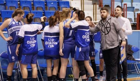 O nouă victorie pentru baschetbalistele de la CSU CSM Oradea: 65-63, pe terenul rapidistelor