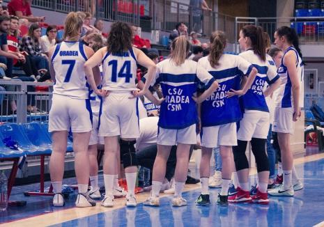Baschetbalistele de la CSU CSM Oradea s-au impus cu scorul de 62-45 pe terenul celor de la CSM Tg. Mureş