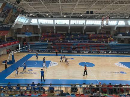 CSU CSM Oradea s-a impus cu 58-53 în disputa cu CSM Tg. Mureș și a obținut prima victorie din noua ediție de campionat