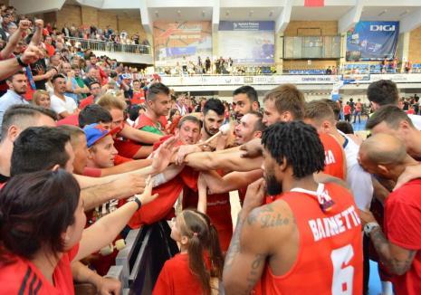 CSM CSU Oradea va susţine luni, 27 mai, la Sibiu, primul joc al finalei Ligii Naţionale