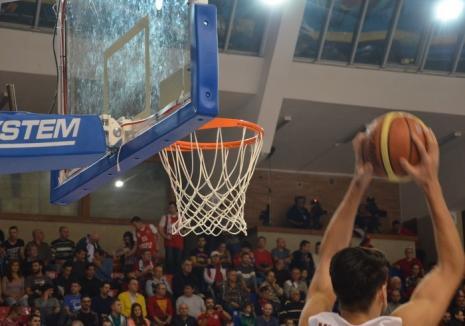 Derby: CSM CSU Oradea joacă joi seară cu BC CSU Sibiu