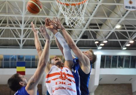 Baschet: CSM CSU Oradea a câştigat jocul de la Timişoara cu 88-86 şi a urcat pe locul 3!