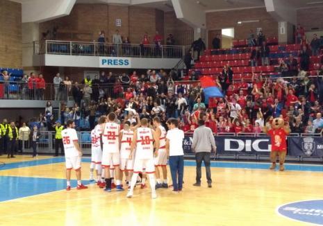 Baschetbaliştii de la CSM CSU Oradea joacă luni acasă cu BC SCM Timişoara