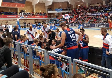 CSM CSU Oradea întâlneşte echipa piteşteană BCM U FC Argeş, în deplasare