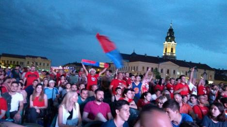 Bucurie în Piața Unirii! CSM Oradea este din nou campioana României la baschet! (FOTO / VIDEO)