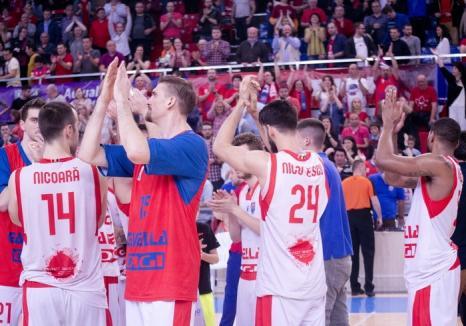 CSM CSU Oradea va fi cap de serie la tragerea la sorţi pentru primul tur preliminar din  FIBA Europe Cup