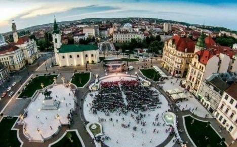 CSM CSU Oradea joacă duminică seara cu trofeul pe masă. În Piaţa Unirii va fi amplasat un ecran gigant
