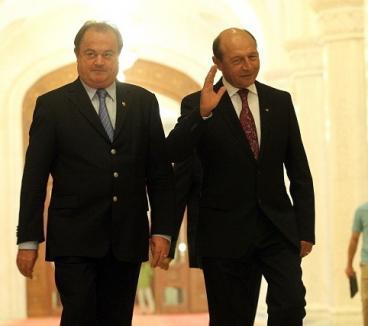 """Traian Băsescu, ironic la adresa lui Vasile Blaga: """"O, săracul!"""""""
